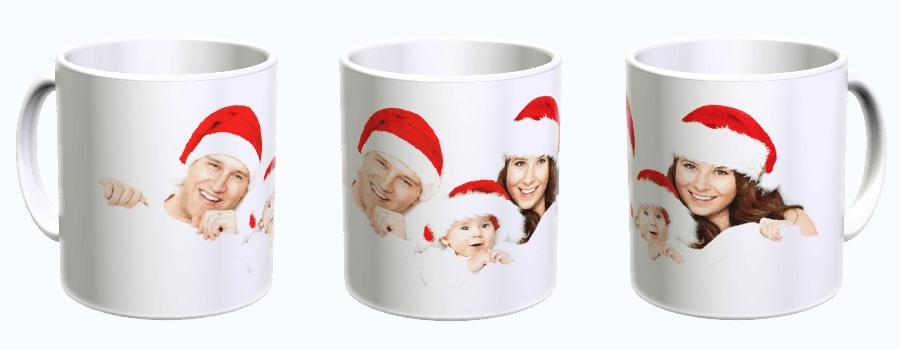 Fototassen zu Weihnachten bedrucken lassen